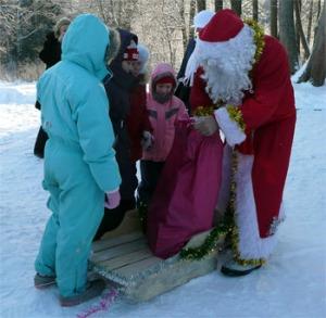 Новогодний отдых с детьми