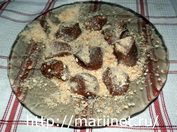 Рецепт приготовления домашних трюфелей с фото
