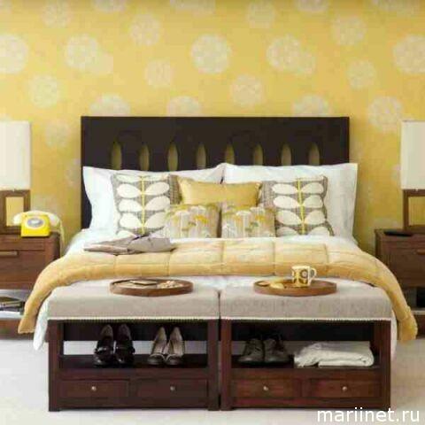 Придайте интерьеру спальной комнаты