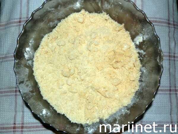 Дрожжевой пирог с яблоками. Рецепт с фото